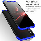 Full Protective With Tempered Glass Shockproof Case Cover For Apple iPhone X 10