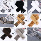 Fashion Winter Women' real Mink Fur knitted Luxury Scarf Muffler Shawl Wraps