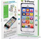 New Toy Phone Baby Children's Y-Phone Educational Learning Kids iPhone lightup