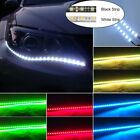 Wow - 2x 4x 18 Led 12v 30cm Flexible 5050 Waterproof Strip Light Bar Car Truck
