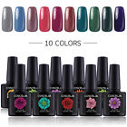 Coscelia UV Nagellack Nagelgele Gel Lack Set UV Gel Farbgel Set Top Base 10ML
