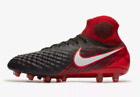 Nike MAGISTA OBRA II AG-PRO WOMEN'S FOOTBALL BOOT Black/Red-US 8.5,9.5,10 Or10.5