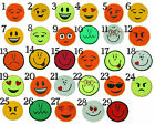 Removable Emoticons Attachable Patches for EMOJI T-Shirt Kids Boys Girls Smileys