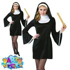 Kyпить Blessed Babe Sexy Nun Costume Hen Party Sister Act Fancy Dress Outfit Size 8-16 на еВаy.соm