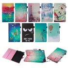 For Amazon kindle fir 7 HD 8 stylish printed PU leather tablet case flip folios