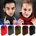 USA SALE Winter Ski Full Face Mask Cover Hat Cap Motorcycle Thermal Fleece Neck