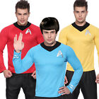 Star Trek Uniform T Shirt Costume Fan Captain Kirk Spock Enterprise Starfleet
