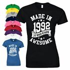 30th Birthday Gift T-Shirt Made in 1988 Vintage Star Age 30 Years Mens Ladies