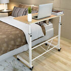 standing table height - Adjustable Height Laptop Desktop Tabletop Stand Food Tray Over Bed Side Table US