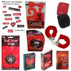 Valentine's Day Novelty - Medal, Card Games, Handcuffs, Naughty Dice, & More