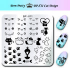BORN PRETTY Nail Stamping Image Plate Nail Art Stamp Stencil Template Manicure <br/> Hot !Square/Long/Large Stamping Plates! SOLD OUT 6200+