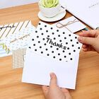 48 Pack of Thank You Cards Chic Striped Polk Dotted W Envelopes Set Assortment
