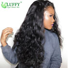 Deep Loose Wave 13 6 Lace Front Wig Brazilian Human Hair HD Transparent Lace Wig
