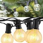 string of lights for wedding - 25 Foot Outdoor Globe Patio String Lights Set of 25 G40 Bulbs For Wedding A7T1