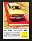 "1963 EJ HOLDEN SPECIAL SEDAN AD A3 FRAMED PHOTOGRAPHIC PRINT 15.7""x11.8"""