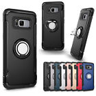 Shockproof Magnet Ring For Samsung Galaxy S7Edge Buckle Stand Holder Case Cover