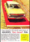 "1963 EJ HOLDEN SPECIAL SEDAN AD A2 CANVAS PRINT POSTER FRAMED 23.4""x16.5"""