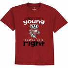 Fanatics Branded Wisconsin Badgers Toddler Red Start 'Em Young T-Shirt