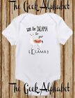 Save the Drama For your llama - Hippie Baby Clothes One Happy Funny Baby Clothes