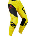 Fox Racing NEW Mx 2018 180 Mastar Yellow Kids Youth Motocross Dirt Bike Pants