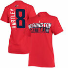 Bria Hartley Washington Mystics Women's Red Name & Number T-Shirt - WNBA