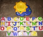 LeapFrog Fridge Phonics SUNSHINE Magnetic 26 UPPERCASE Letter Set COMPLETE!