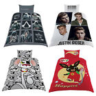Reversible Duvet Cover Kids Single Bed Set Pillow Case Quilt Cover Bedding Creed