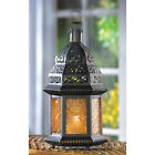VARIOUS GLASS MOROCCAN STYLE CANDLE LANTERNS