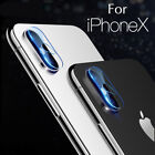 2Pcs Back Camera Len Protector Film Lens Tempered Glass For iPhone X 6 7 8 Plus