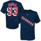 Reebok Keith Yandle New York Rangers Youth Blue Name & Number T-Shirt - NHL