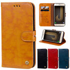 For Smasung Galaxy A6 A8 J4 J6 J8 2018 Leather Flip Wallet Magnetic Case Cover