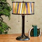 Connor Stained Glass Table Lamp Multi Jewel Each with CFL Bulb