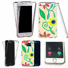 Shockproof 360° Silicone Clear case cover for many mobiles - design ref zx0582
