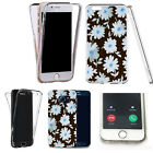 360° Silicone gel full case cover for majority mobiles - daisy collection