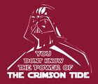 Darth Vader Alabama Crimson Tide Power shirt Star Wars College Football Playoff $24.0 USD on eBay