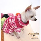 Pink Japan Dog Sweater Knit Pet Clothes Cat Puppy Sphynx Yorkie K852 Myknitt