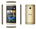New HTC One M7 32GB 4G Unlocked 4.7'' Android Smartphone Blue Gold