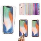 For Apple Iphone Xs X 8 7 6 Plus 5 Ultra Thin Slim Tpu Gel Skin Cover Case Pouch