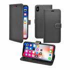 Premuim Quality Black leather Flip Case Cover  For Apple  iphone XR,XS & XS MAX