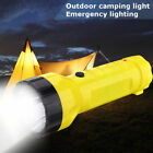Solar Power Rechargeable Portable LED Flashlight Camping Tent Light Lamp UK