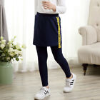 3-13Y New spring autumn girls leggings Sport kids skirt leggings cotton pants