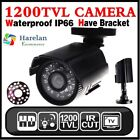 1200TVL HD Color Outdoor CCTV Surveillance Security Camera 24IR Day Night Video