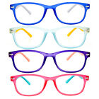 blue reading glasses - 1 or 3 Pack Readers Spring Temple Rubber Coated Frame Reading Glasses 1.00-6.00