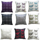 New Circles and Butterflies Sofa Bed Cushion Covers (Pack Of 4) Size 18 x 18 cms