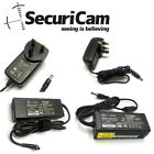 SECURICAM 12V 1/2/5/6A POWER SUPPLY AC TO DC ADAPTER FOR CCTV & LED STRIP LIGHTS