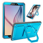 Внешний вид - For Samsung Galaxy Tab A 10.1 inch Tablet SM-T580 Rotating Case Cover Grip Stand