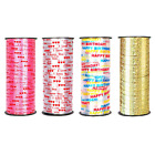 Внешний вид - 100 Yard Crimped Curling Ribbon Roll Silver Balloon Ribbons Party Gift Wrapping