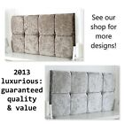 *NEW* DELUXE CRUSHED VELVET HEADBOARD CHOOSE YOUR SIZE + COLOUR + FREE P & P!!!
