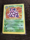 Pokemon Card Holo Nidoking 11/102 LP Base Set Great Condition Never Played!