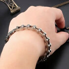 Titanium Steel Men's Cool Bracelet Link Chain Wristband Bangle Jewelry Braw